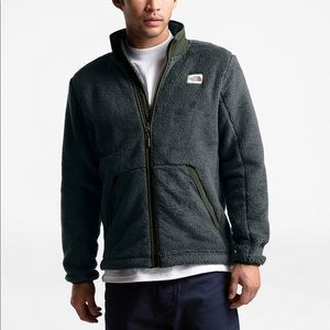 The North Face Full Zip Sherpa Fleece Jacket XL
